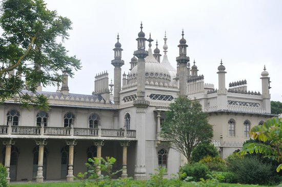 Outside view of Royal Pavilion