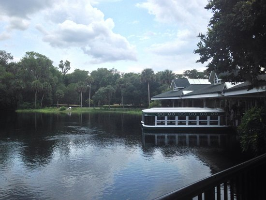Silver Springs State Park: Glass boat area
