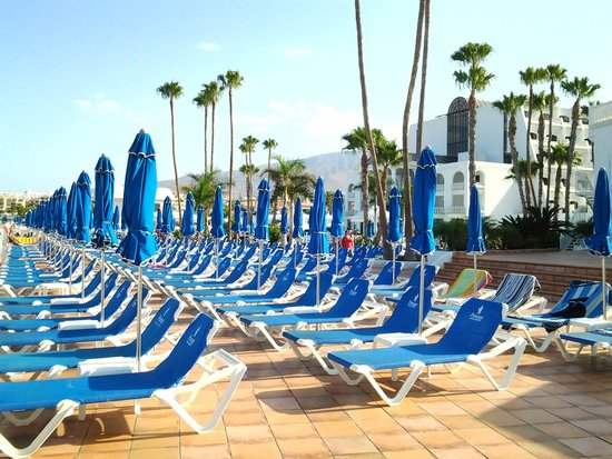 Guayarmina Princess Hotel : espace piscine