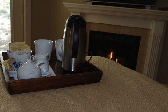 Chateau de Vie: morning tea