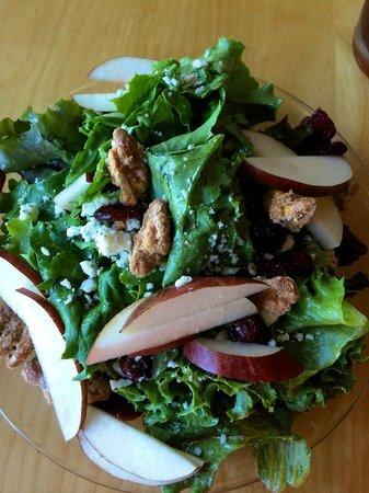 Sixth Street Bistro & Loft : Sixth Street Salad - Pears, Candied Walnuts - delicious