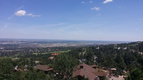Cheyenne Mountain Zoo : The view