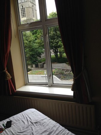 Harding Hotel: view from the bed