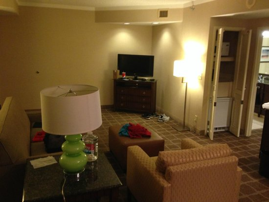 Embassy Suites by Hilton San Diego - La Jolla: living area