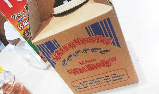 Bu Rudy Dharmahusada : Paket sambel