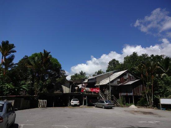 Annah Rais Longhouse Adventure: Entrance