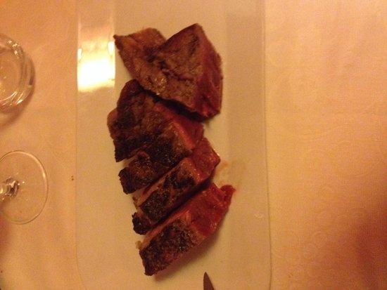 Enoteca Ristorante Gallo Nero : Bistecca spettacolare