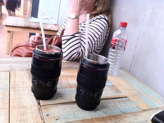 The Camera Museum: Yes, they are drinks, not lenses!