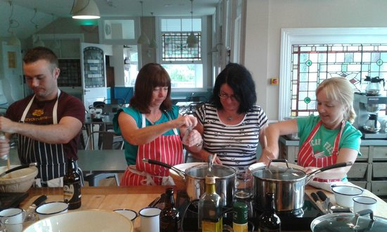 Chequers Kitchen: Cookery lesson