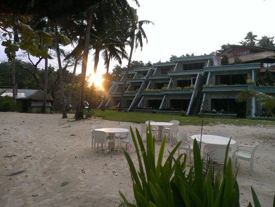Boracay Terraces Resort: Sunrise over Boracay Beach Terraces