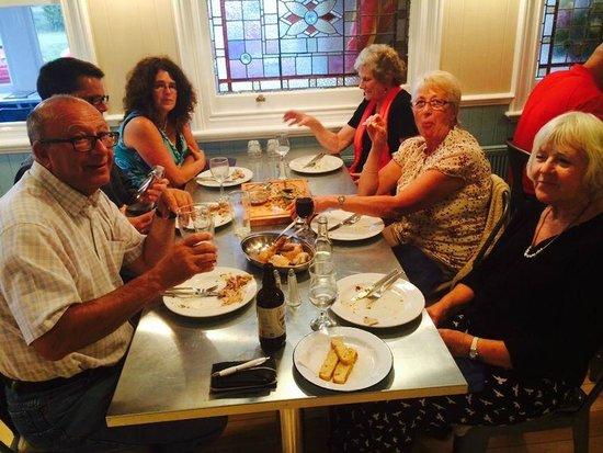 Chequers Kitchen: The restaurant