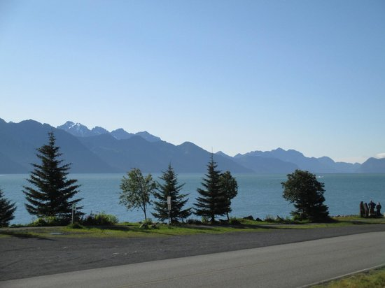 Seward Front Row B&B: View