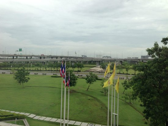 Novotel Bangkok Suvarnabhumi Airport: View from Hotel Room