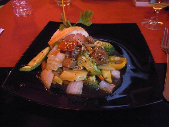 Ocean Maya Royale : Beef teriyaki in the Japanese restaurant