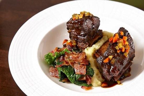 Wyndham Anaheim Garden Grove: Braised Short Ribs