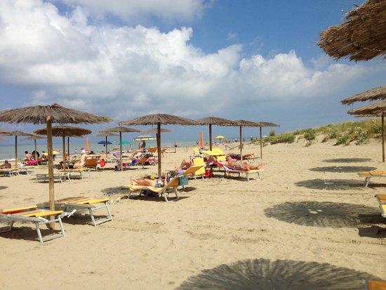 Hotel Club Resort Regina del Mare: Spiaggia