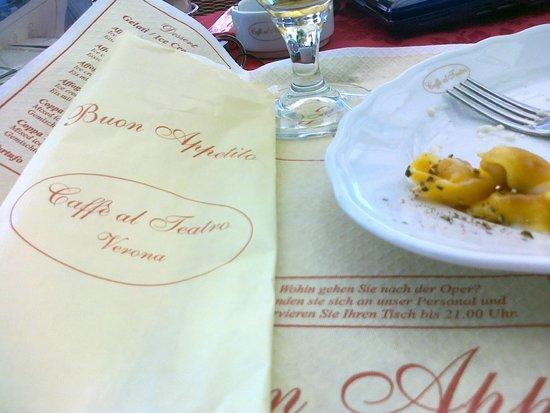 Caffe Al Teatro: tortellini panna prosciutto