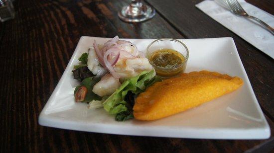 Miami Culinary Tours - Private Tours: ceviche and empanada