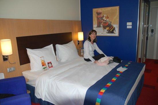 Park Inn by Radisson Nevsky St. Petersburg Hotel: Apperçu de notre chambre