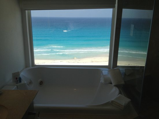 Le Blanc Spa Resort: View from the tub - amazing !