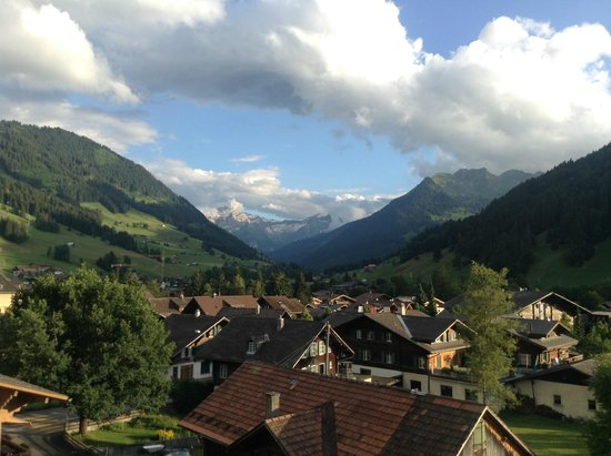 Gstaaderhof Swiss Quality Hotel: view from my room
