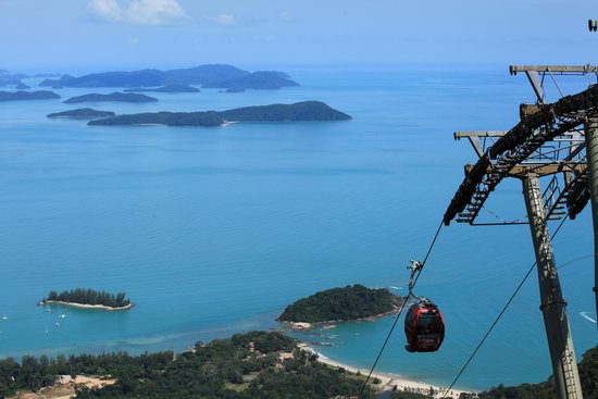 Langkawi Cable Car (Panorama Langkawi Sdn Bhd): Bird View of islands