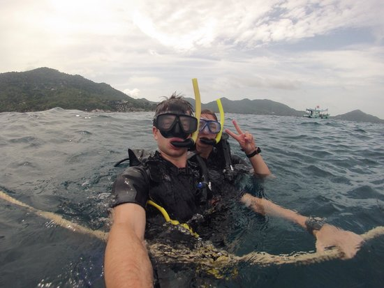 Asia Divers: At the surface