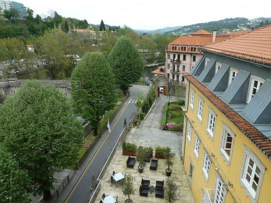 Casa da Calcada Relais & Chateaux : Vue de la terrasse