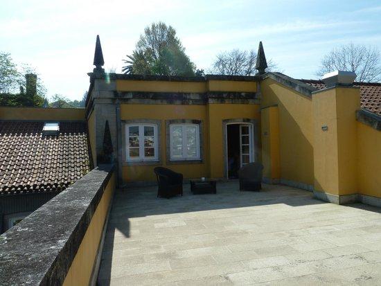 Casa da Calcada Relais & Chateaux : La terrasse