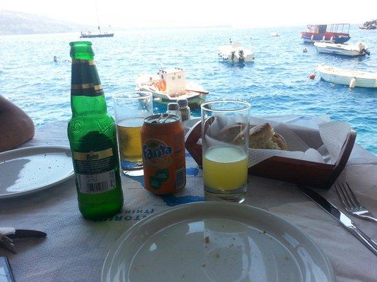 Dimitris Ammoudi Restaurant : Cibo e mare