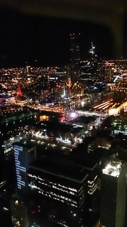 Sofitel Melbourne on Collins: Yarrah, night time view