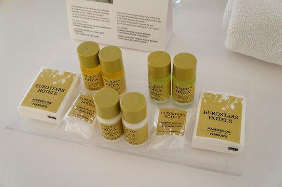 Eurostars Book Hotel: lotion and shower gel