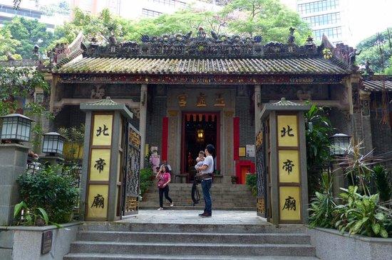 Historic Pak Tai Temple, built in 1863