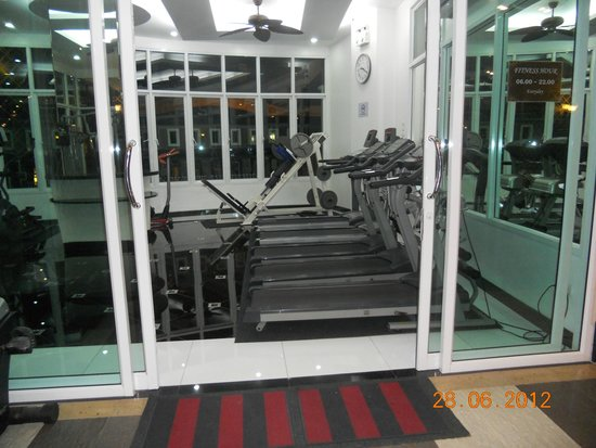 KTK Royal Residence: Маленький тренажерный зал