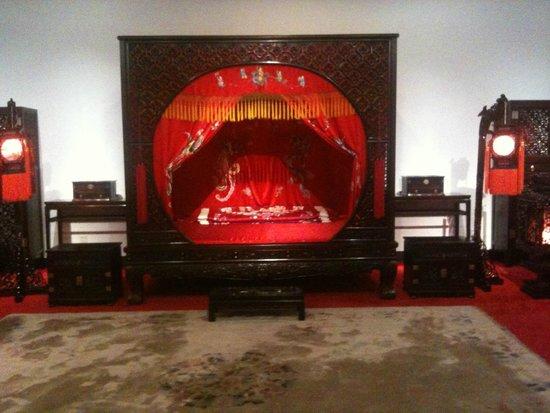 China Red Sandalwood Museun : 紫檀の新婚夫婦の部屋