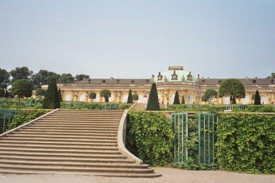 Potsdamer Gärten: Sanssouci Palace