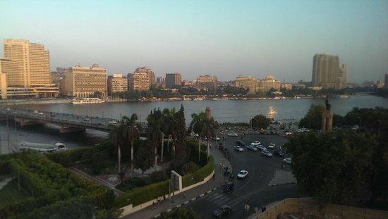 Novotel Cairo El Borg: Nile view