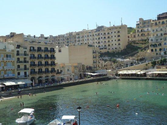 San Andrea Hotel: Vue d'ensemble de la crique