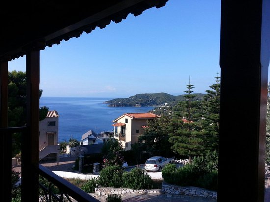 Eleni's Village: View from the balcony of room 8