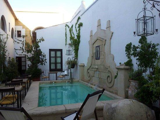La Casona de Calderon: jardin e picina