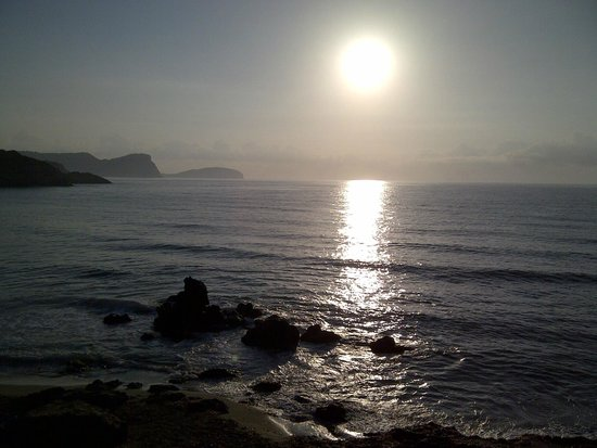 azuLine Hotel Coral Beach: Sunrise at Cala Nova Beach ... Lovely