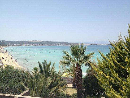 Ceshme Plus Hotel: Müthiş deniz.