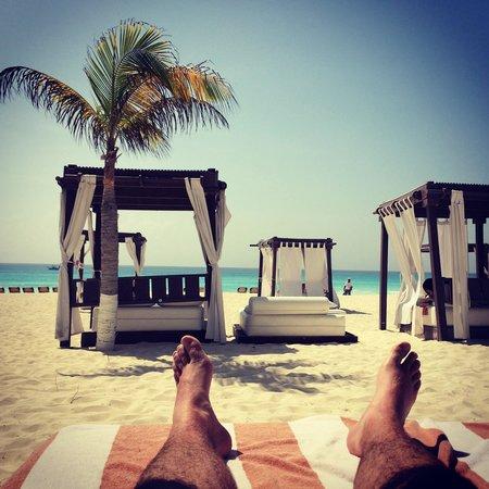 Hyatt Zilara Cancun: Relaxing on the Beach