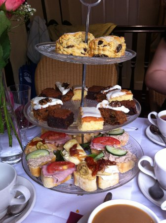 Georgina's Cafe: Afternoon tea before it was all devoured