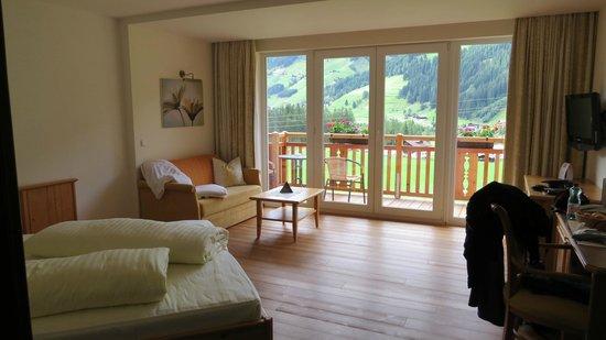 Alpinhotel Jesacherhof Gourmet & Spa: Zimmer
