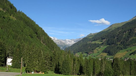 Alpinhotel Jesacherhof Gourmet & Spa: Aussicht vom Zimmer