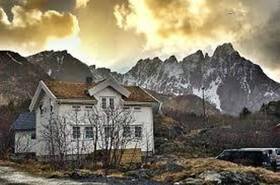 Hattvika Lodge. Paradise. Lofoten. Norway