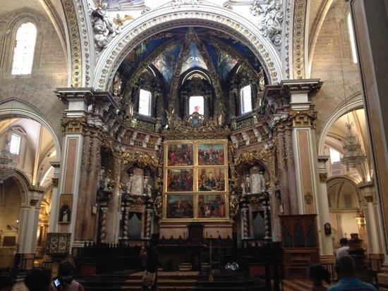 Valencia Cathedral : Кафедральный собор внутри