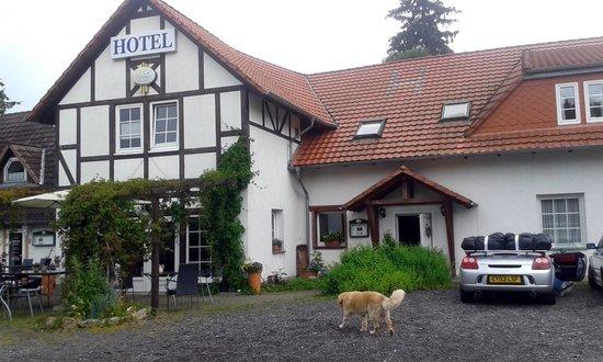 Breitenworbis, Germany: Front of the hotel