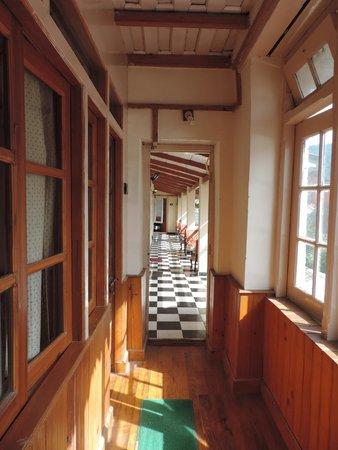 Hotel Himalaya: The Corridor...